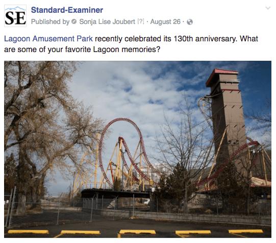 Ogden amusement park