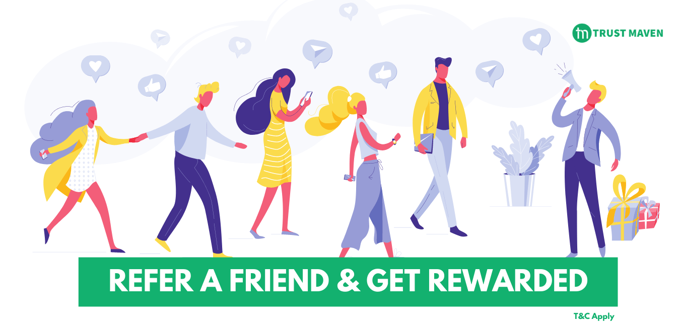 Refer a friend and get rewarded