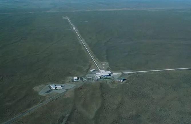 L'observatoire LIGO a Livingston, en Louisianne.