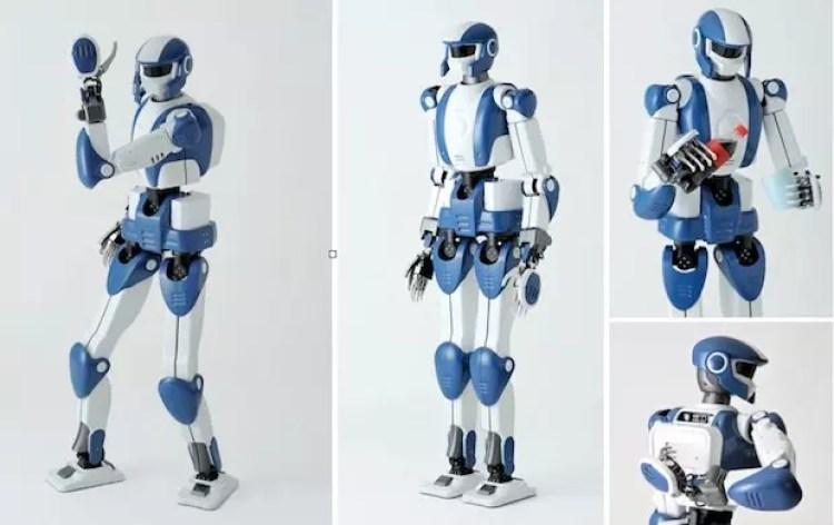 robot robots kawada humanoide humanoïde hrp-4 airbus