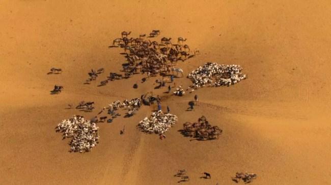 eau désert