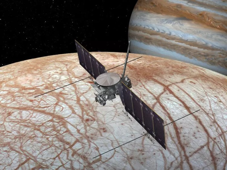 vaisseau spatial jupiter nasa europa mission satellite