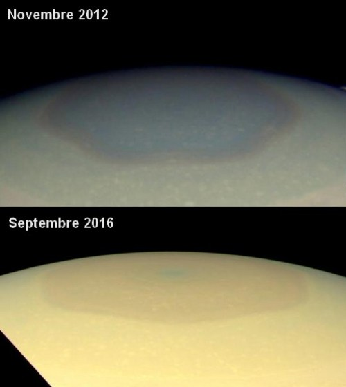comparaison hexagone saturne nasa