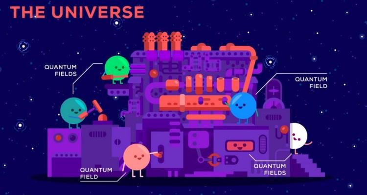 univers mécanique quantique bouton de supression état fondamental