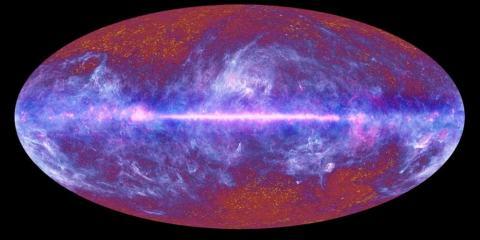 fond diffus cosmologique vitesse de la lumière satellite planck