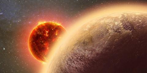 exoplanète planete similaire terre atmosphere decouverte