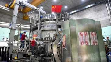 Le réacteur à fusion chinois atteint un nouveau record du monde !