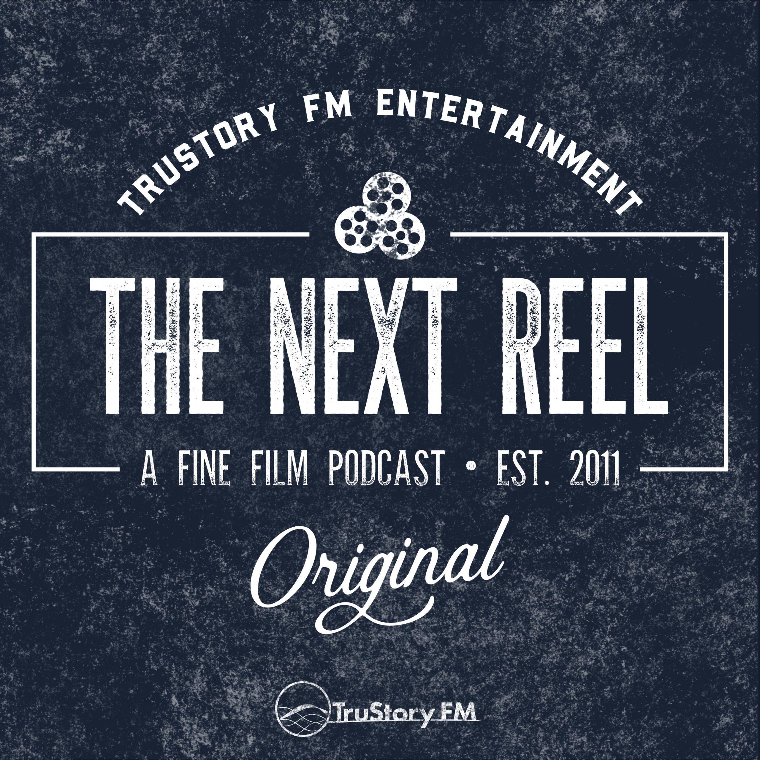 The Next Reel Classic Label Inversion Logo