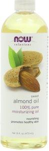 3.NOW Foods Sweet Almond Oil, Moisturizing Oil, 16 ounce