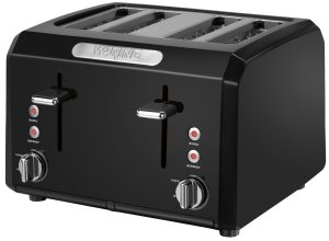 5.Waring CTT400BK Professional Cool Touch 4-Slice Toaster
