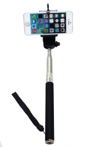 8.Black Selfie Stick Extendable