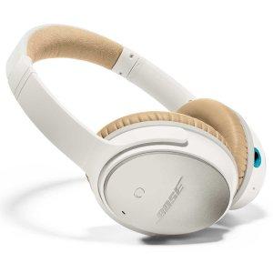 4.Bose QuietComfort 25 Headphones, White