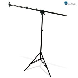 8.LimoStudio Photo Studio Lighting Reflector Arm Stand Reflector Stand Holder Boom Arm