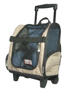 9. Medium Snoozer Wheel Around Pet Carrier