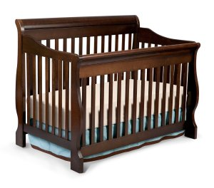 9.Delta Children Canton 4-in-1 Convertible Crib