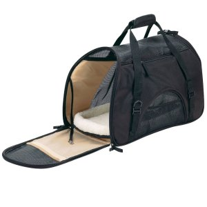 2.Pet Carrier for Small Dogs and Cats with a Soft Travel Bed Inside the Bag