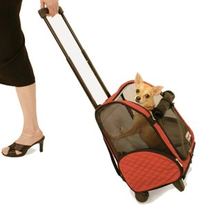 8.Snoozer Roll Around 4-in-1 Pet Carrier