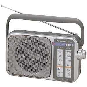 8. Panasonic RF-2400 AM : FM Radio