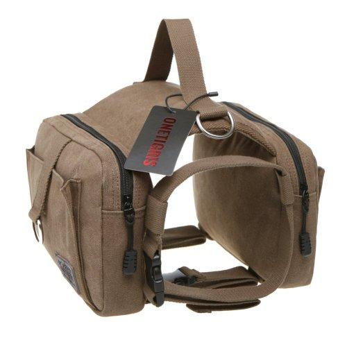 3. OneTigris Cotton Canvas Dog Pack Hound Travel