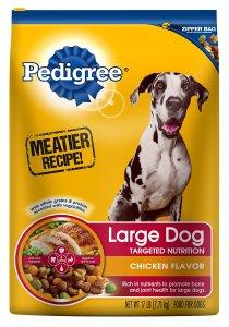 4. Dry Dog Food by Pedigree