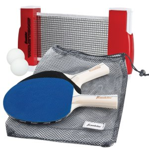8. Franklin Sports Table Tennis To Go (Multi-color)