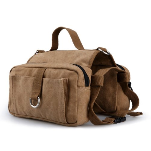 8. Lalawow Cotton Canvas Dog Pack Hound Travel