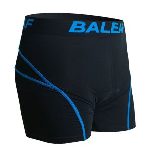 9.Baleaf Men's 3D Padded Bicycle Cycling Colored Underwear Shorts