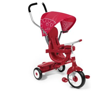 2. Radio Flyer 4-in-1 Trike, Red