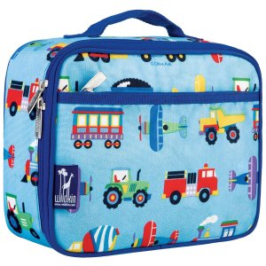 8. Olive Kids Trains, Planes & Trucks Lunch Box
