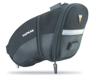 1. Topeak Aero Wedge QuickClick Pack
