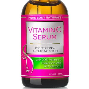 3. Pure Body Naturals Vitamin C Serum