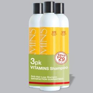 4. 3 Pac Vitamins Anti Hair Loss