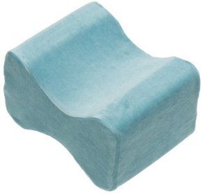5. Contour Products Memory Foam Leg Pillow with Cover