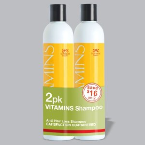 7. 2 Pac Vitamins Anti Hair Loss Shampoo