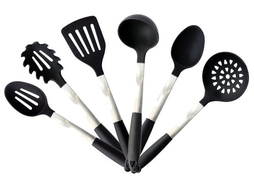 9. Kitchen Utensil Set with Stand