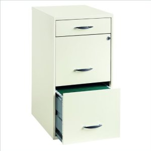9. Steel 3 Drawers Filing Cabinet