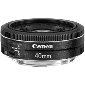 5. Canon EF 40mm f:2.8 STM Lens