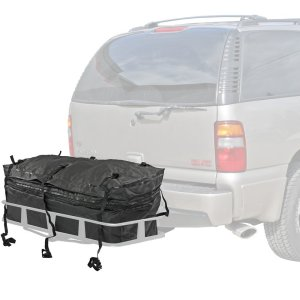 5. Waterproof Hitch Cargo Carrier Rack Bag with Expandable Height