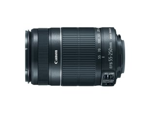6. Canon EF-S 55-250mm IS II Telephoto Zoom Lens