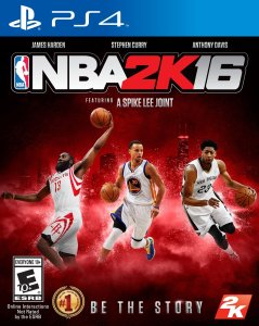 7. NBA 2K16 - PlayStation 4