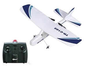 7. Top Race Cessna Electric 2 Ch Infrared Remote Control RC Airplane