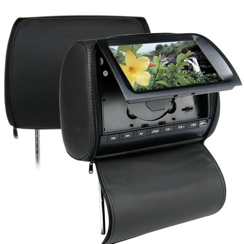 3. Adjustable Twin Dual Screen Pair Headrests