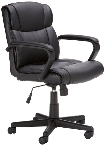 3. AmazonBasics Mid-Back Office Chair
