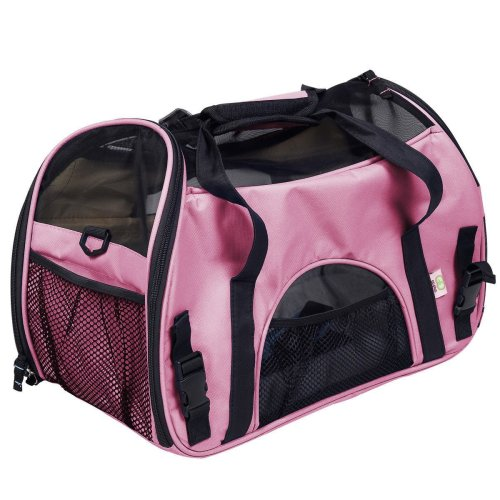 4.Oxford Soft Sided Comfort Pet Carrier