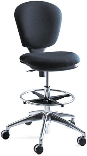 7. Metro Extended-Height Chair Black