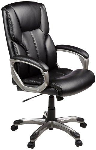 8. AmazonBasics High-Back Executive Chair