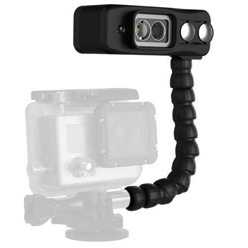 6.Light and Motion Sidekick Black Duo Light for GoPro