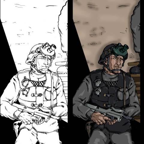 Armageddon RPG Soldier