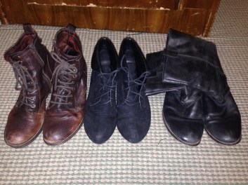 Row of boots 2