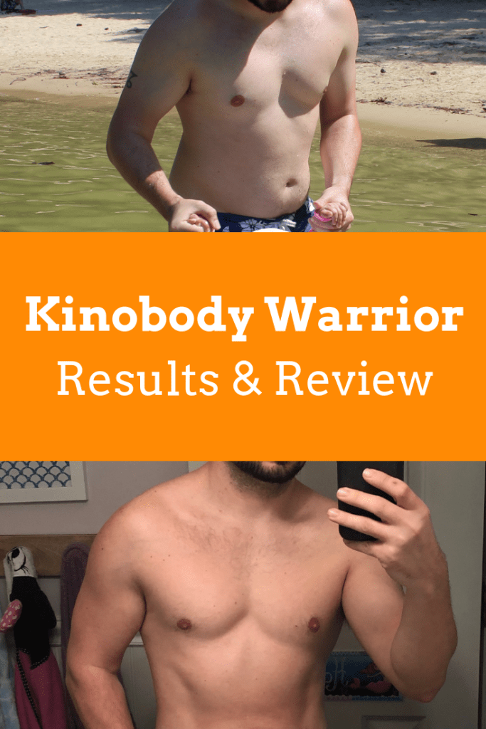 I tried the Kinobody Warrior Shredding Program (Results + Review)